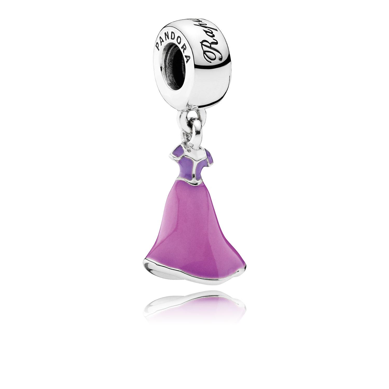 Disney, Rapunzel's Dress Dangle Charm, Mixed Enamel