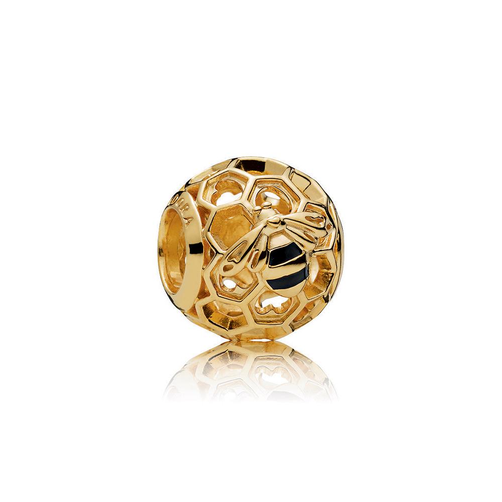 PANDORA Honeybee Charm, PANDORA Shine™