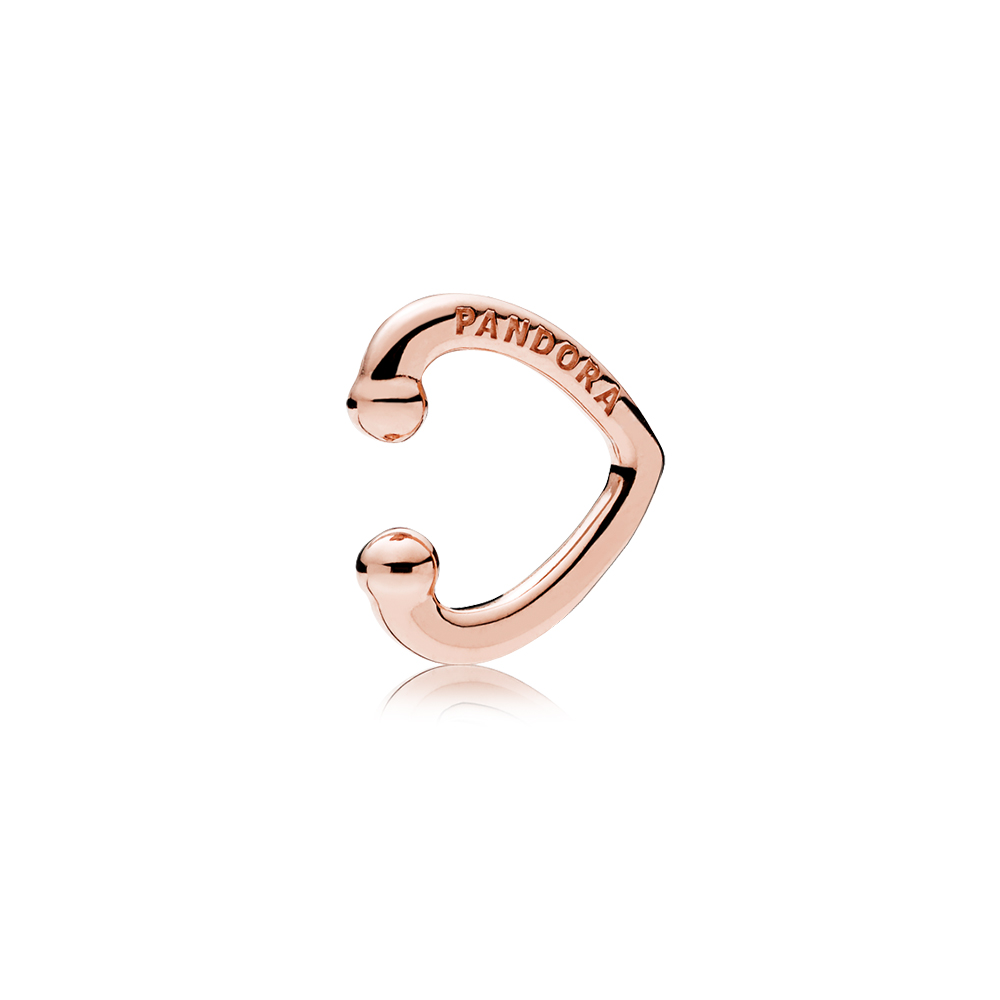 Open Heart Ear Cuff, PANDORA Rose™