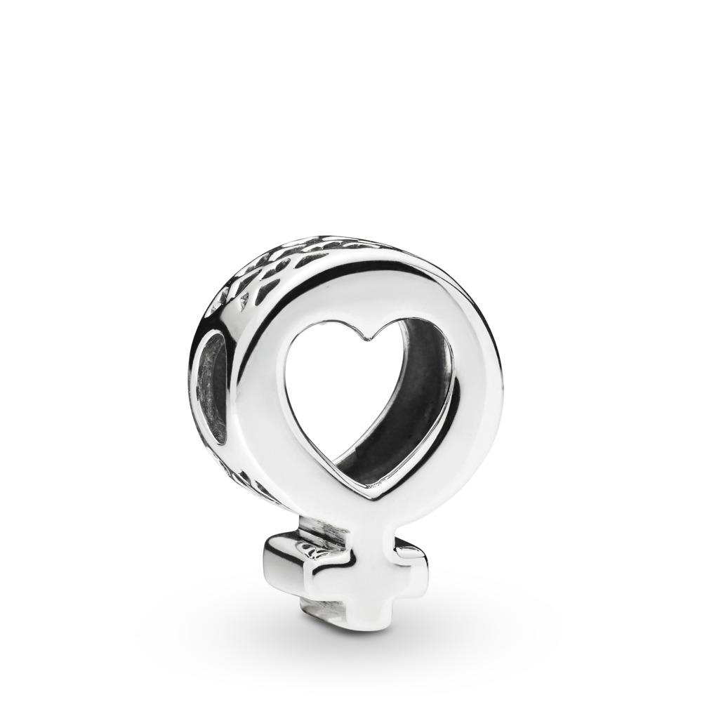 Female Symbol Charm, Sterling silver - PANDORA - #797903