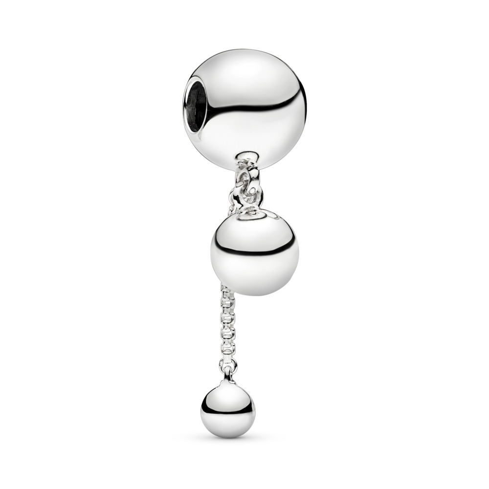 String of Beads Dangle Charm, Sterling silver - PANDORA - #797521