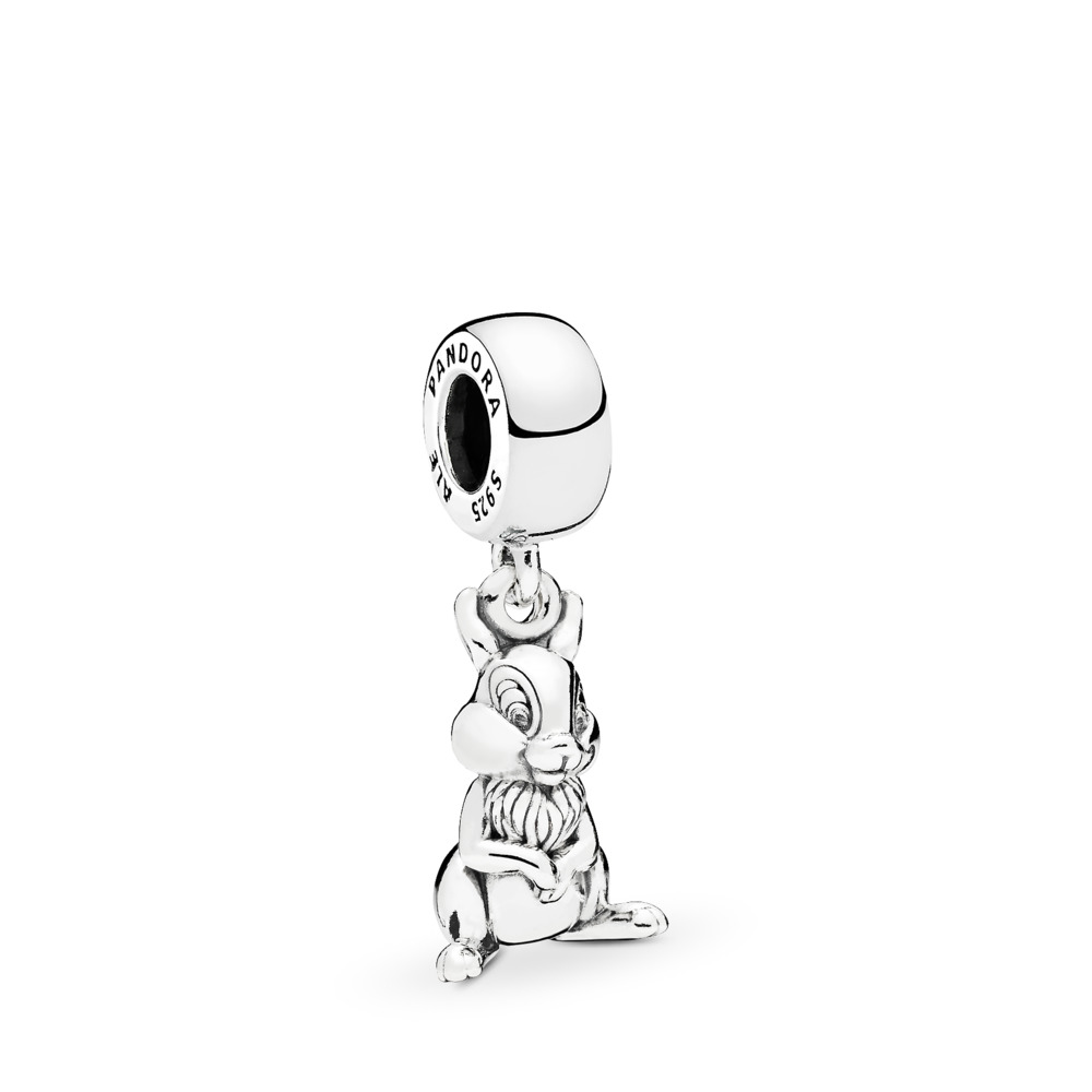 Disney, Thumper Dangle Charm, Sterling silver - PANDORA - #796342