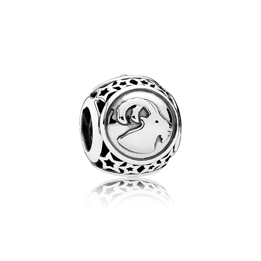 Capricorn Star Sign Charm, Sterling silver - PANDORA - #791945