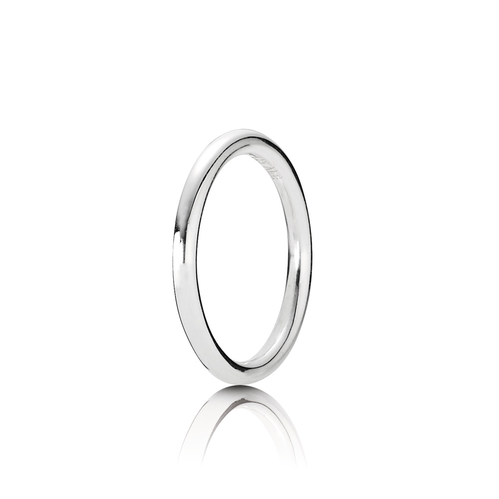 Quietly Spoken Ring, Sterling Silver Oxidised - PANDORA - #190616