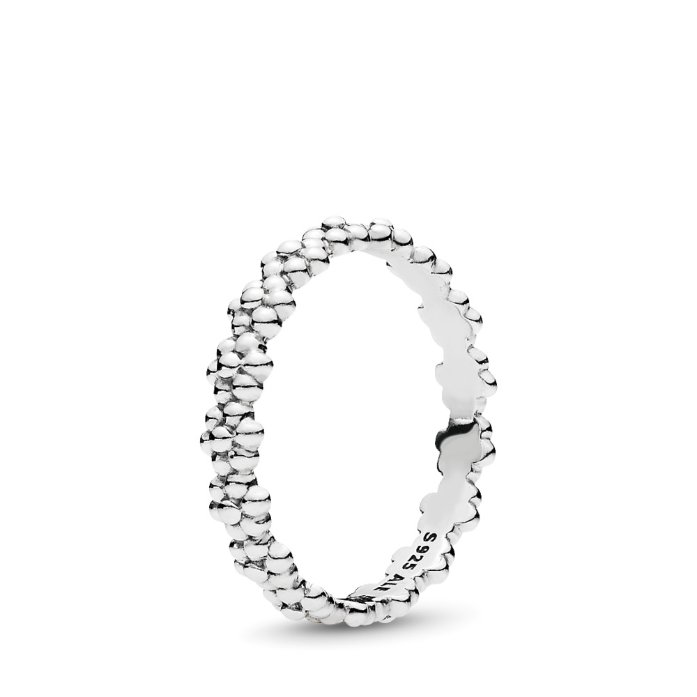 Ring of Daisies Ring, Sterling silver - PANDORA - #191035