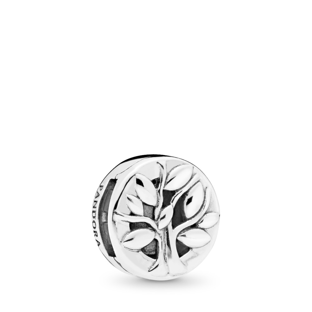PANDORA Reflexions™ PANDORA Tree of Life Charm, Sterling silver, Silicone - PANDORA - #797779