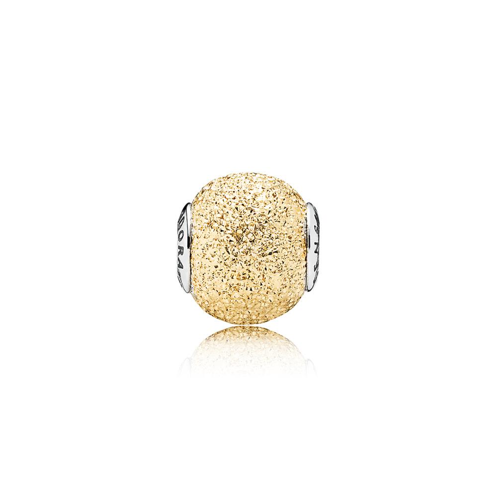 SENSITIVITY Charm, 14K Gold, Two Tone, Silicone - PANDORA - #796051