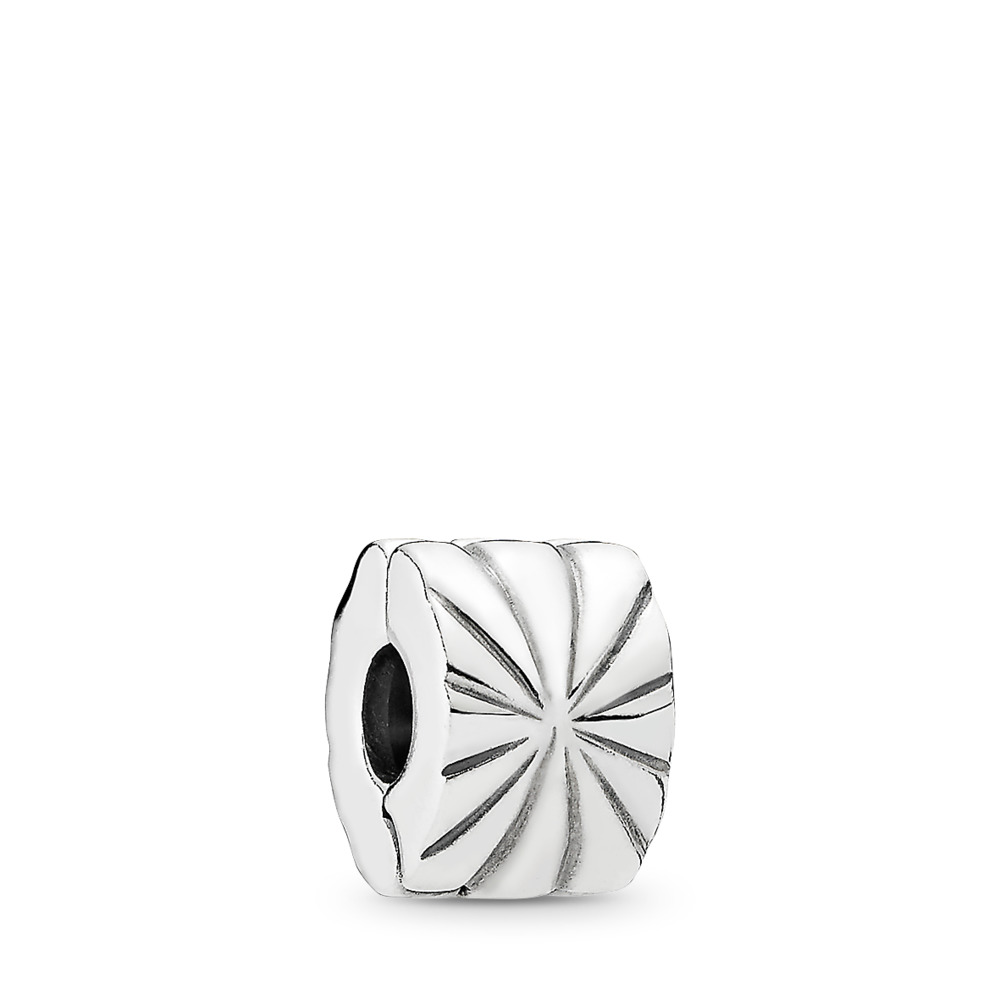 Sunburst Clip, Sterling silver - PANDORA - #790210