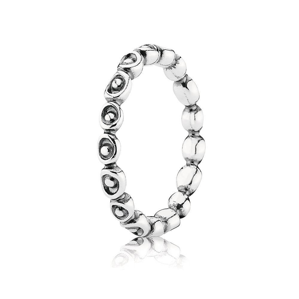 Celebration Stackable Ring, Sterling silver - PANDORA - #190862