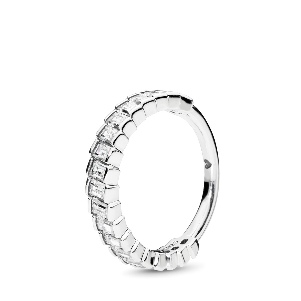 Glacial Beauty Ring, Clear CZ, Sterling silver, Cubic Zirconia - PANDORA - #197744CZ