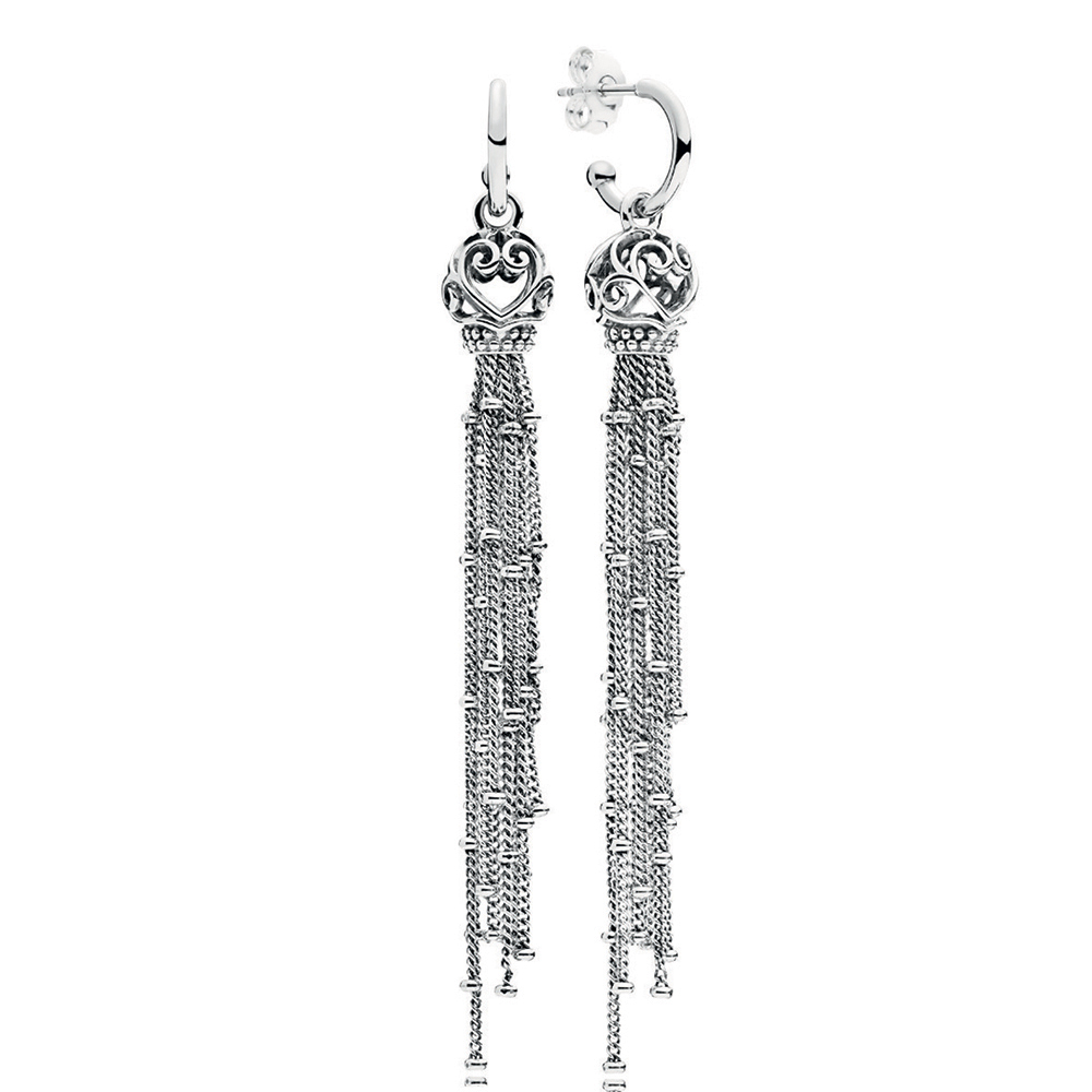 Enchanted Tassels Drop Earrings