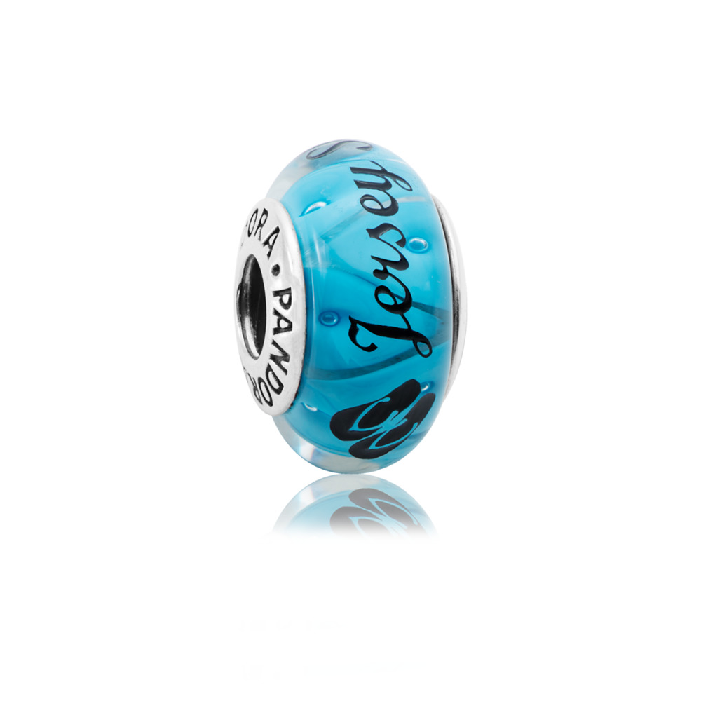 null, Sterling silver, Glass - PANDORA - #ENG790924_1