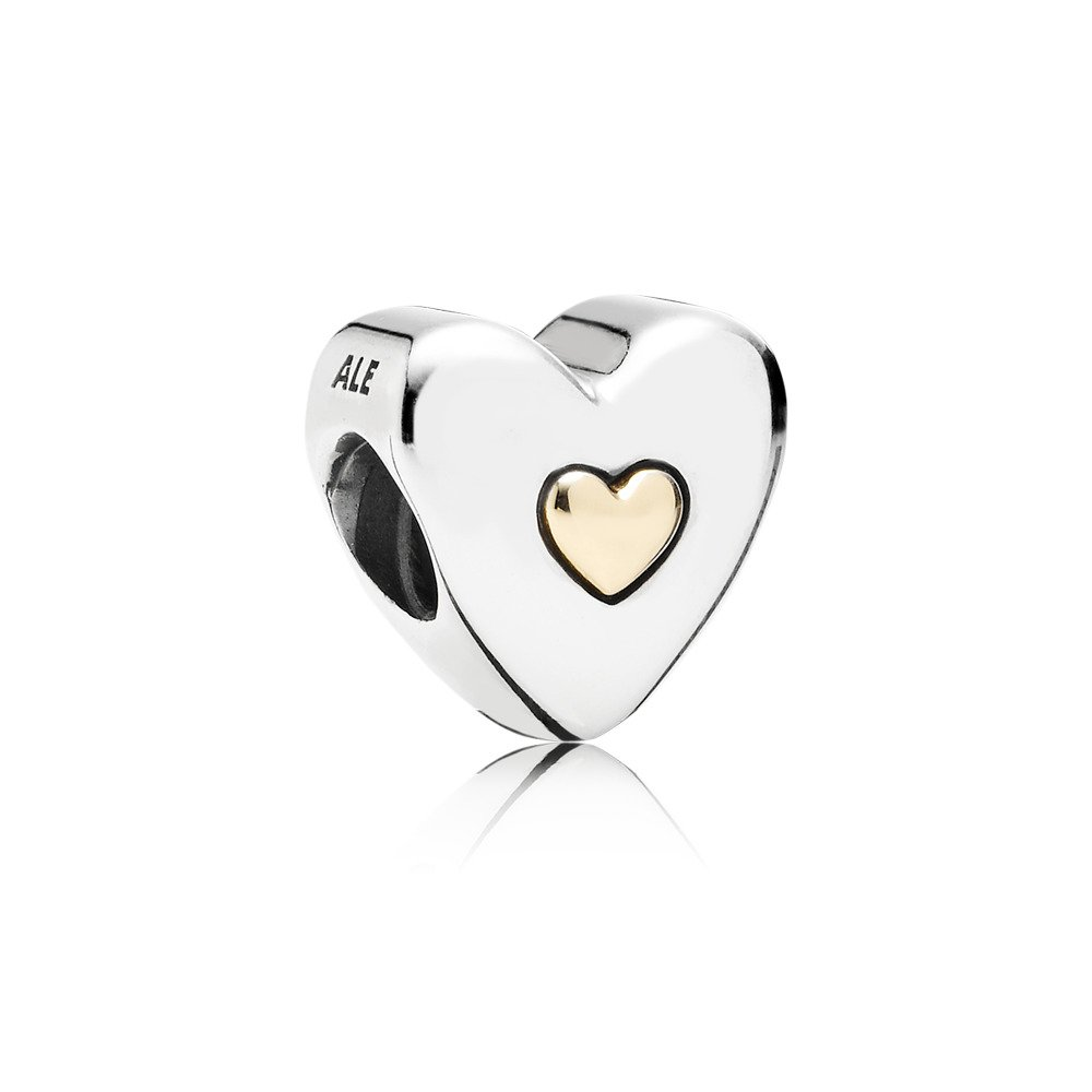 Happy Anniversary Charm, Two Tone - PANDORA - #791290