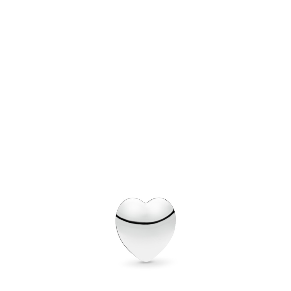 Precious Heart Petite Locket Charm, Sterling silver - PANDORA - #792176