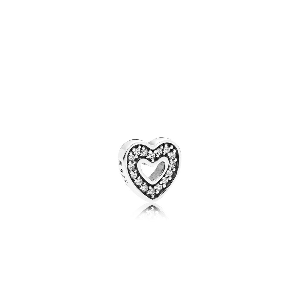 Captured Heart Petite Locket Charm