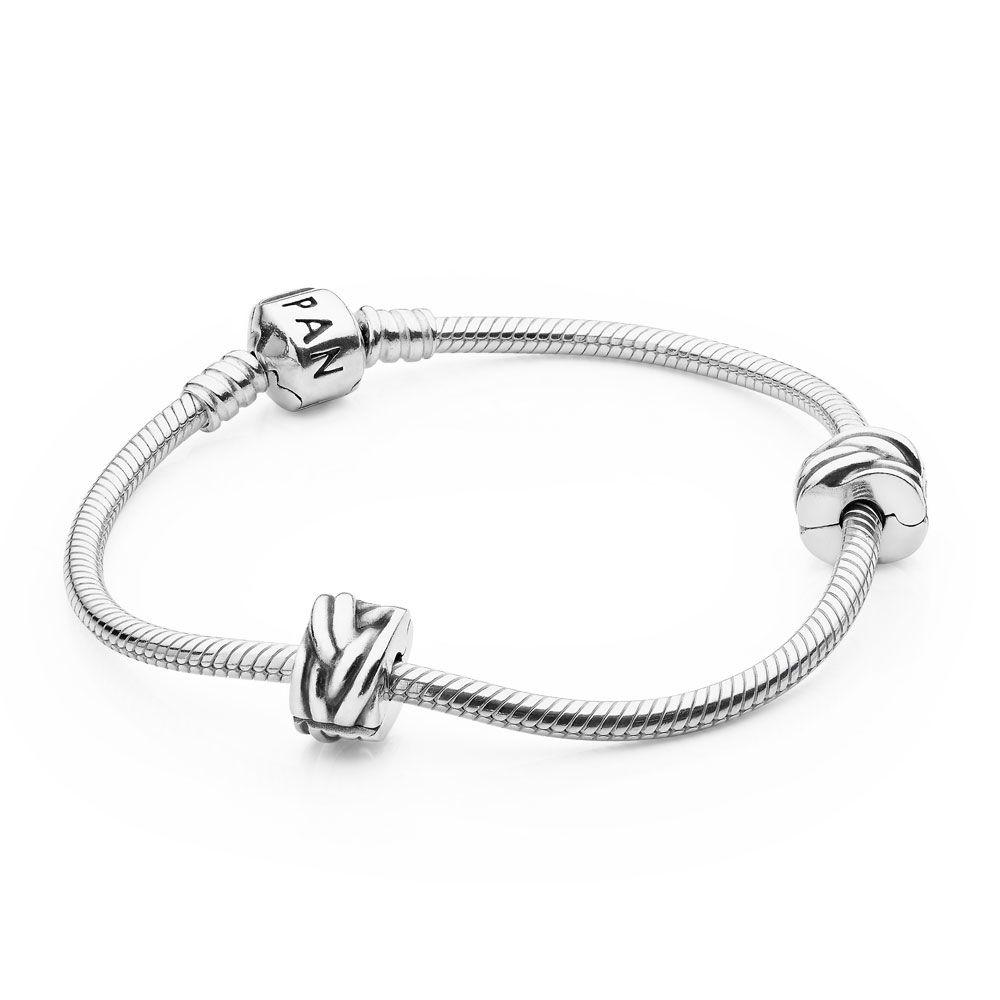 Iconic PANDORA Clasp Bracelet Set
