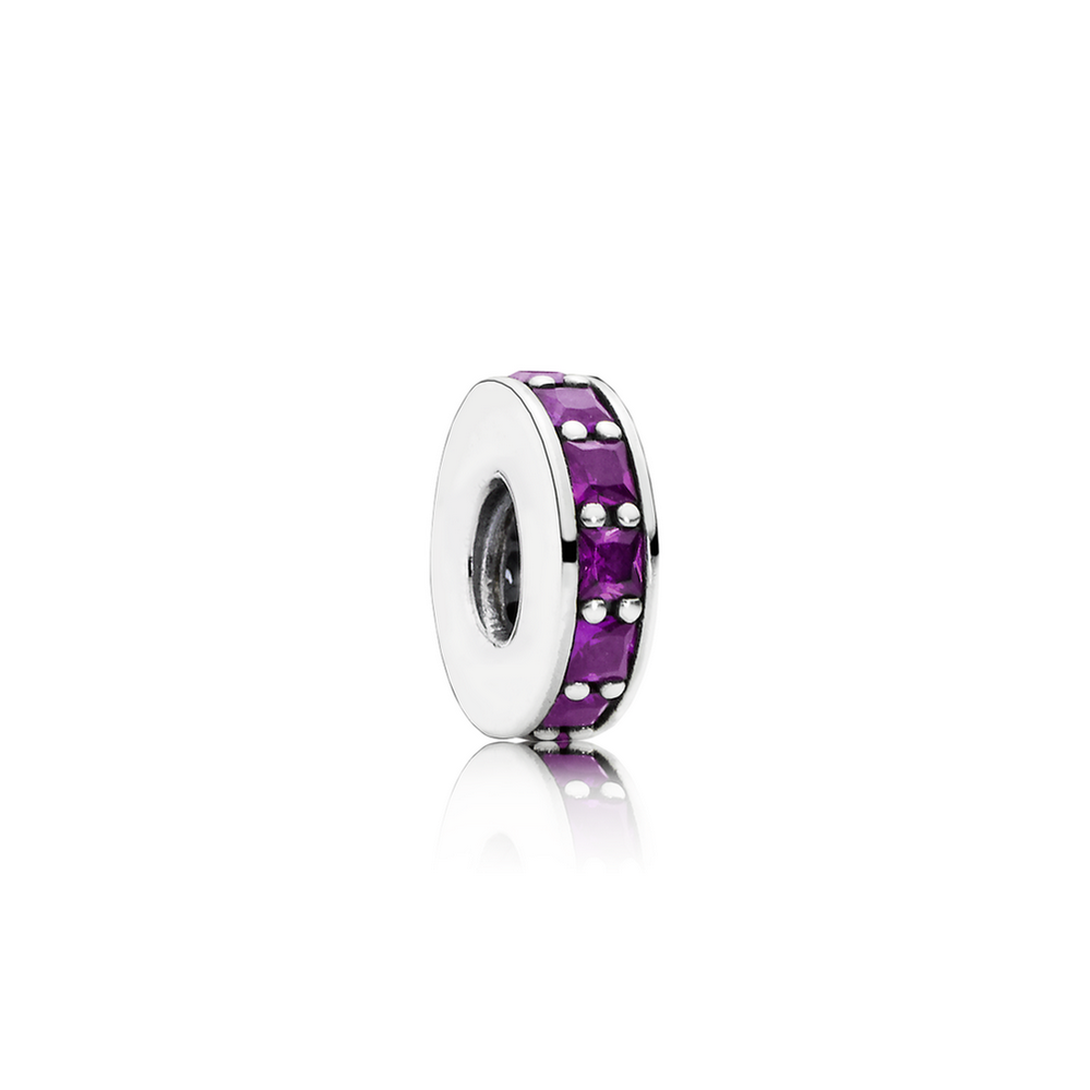 Eternity Spacer, Royal Purple Crystal