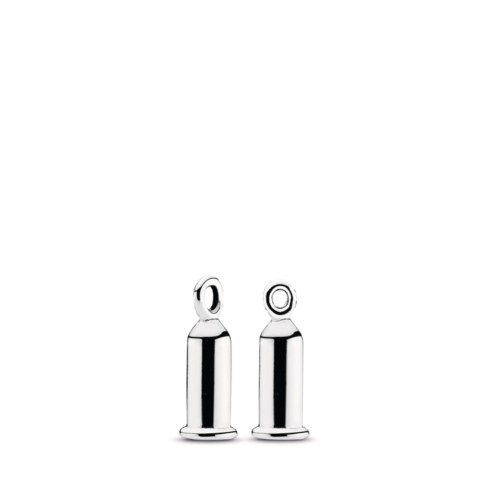 Earring Charm Barrel, Sterling silver - PANDORA - #291002