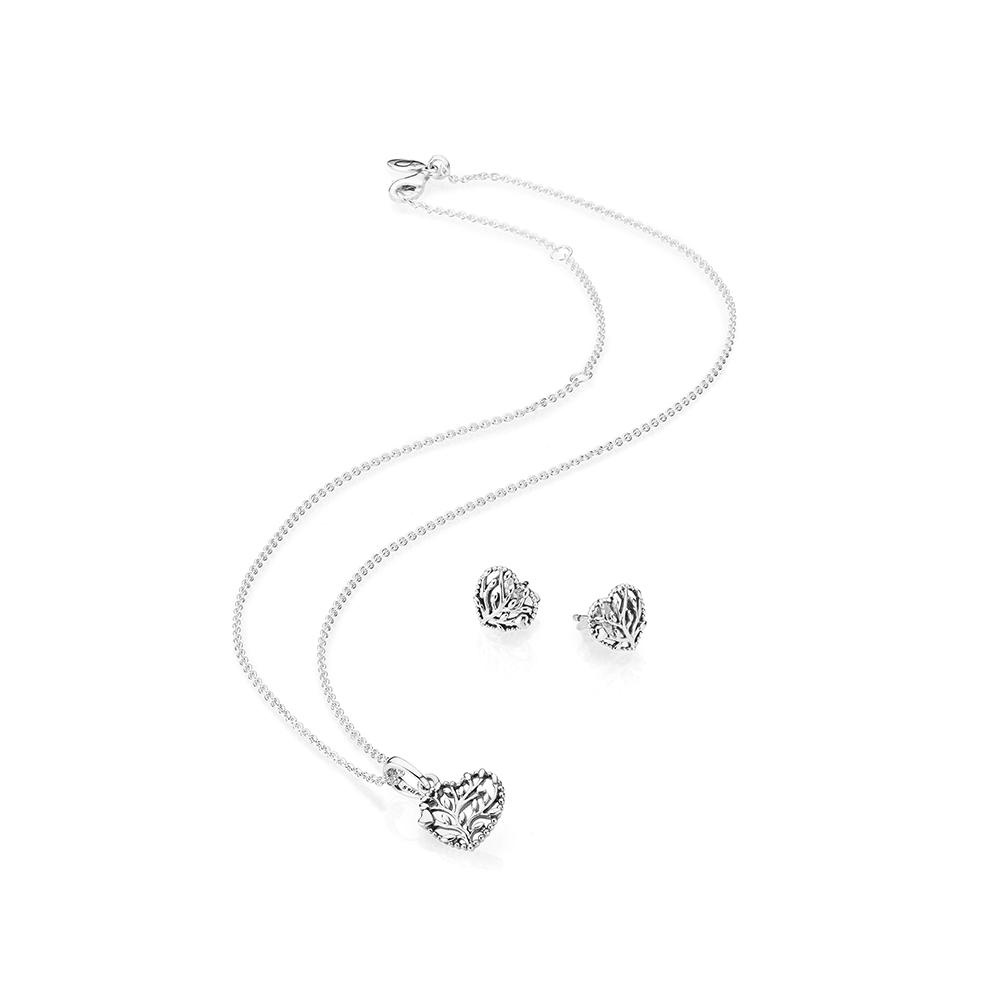 Flourishing Hearts Jewelry Gift Set