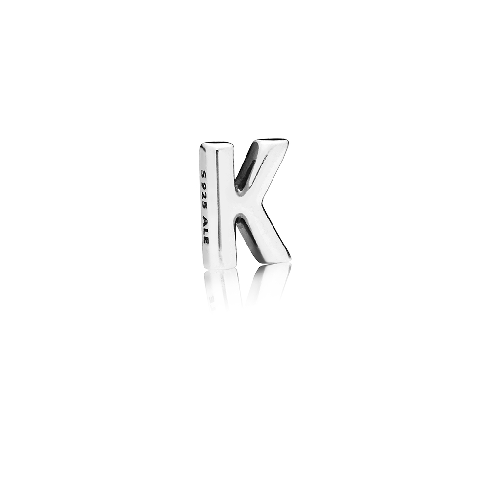 Letter K Petite Locket Charm