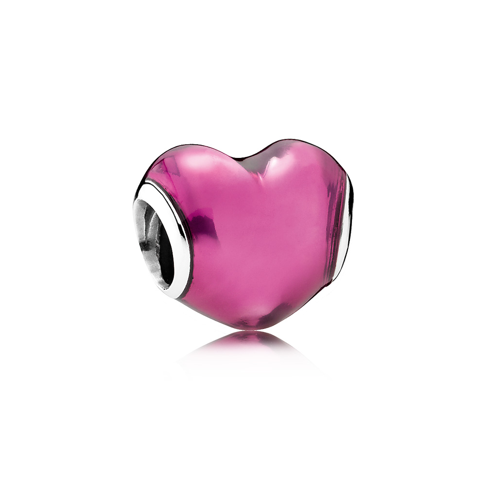 In My Heart Charm, Violet Enamel