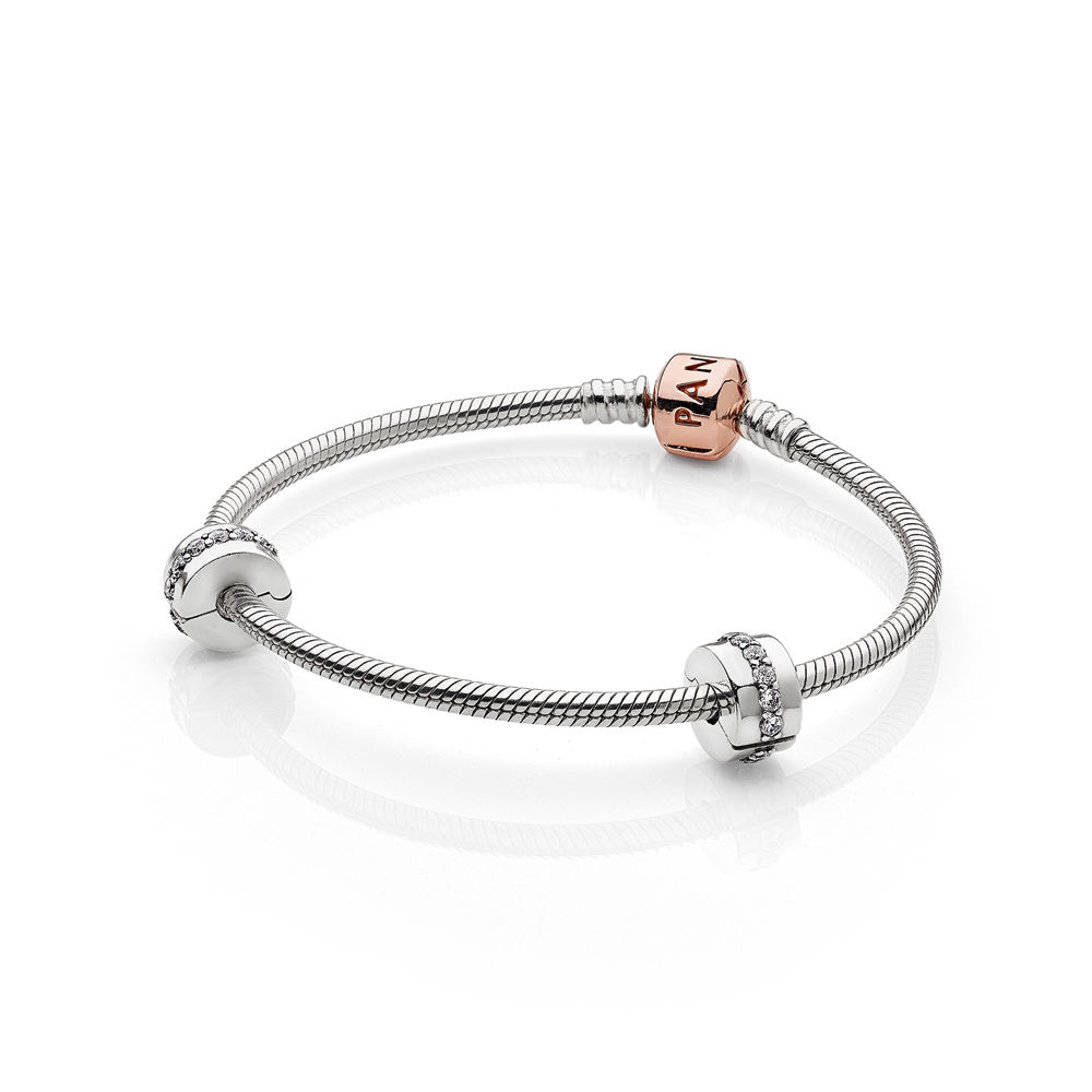 PANDORA Rose™ Iconic Bracelet Set - PANDORA - #DB800539