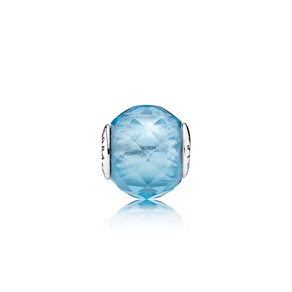 FRIENDSHIP Charm, Sky-Blue Crystal