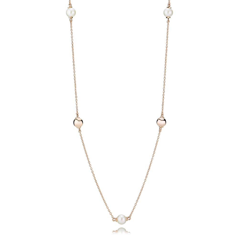 Contemporary Pearls Necklace, Freshwater cultured Pearl