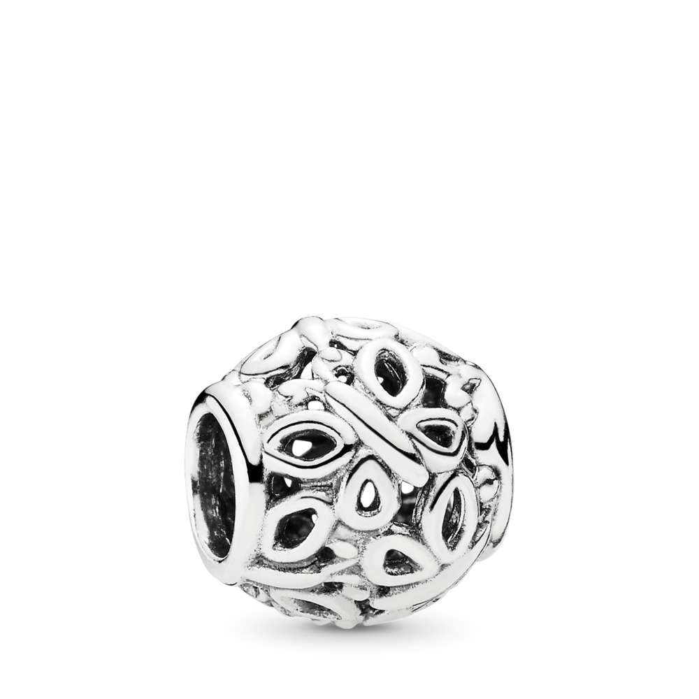 Butterfly Garden Charm, Sterling silver - PANDORA - #790895