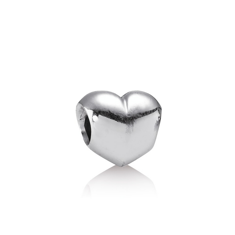 Big Smooth Heart Charm