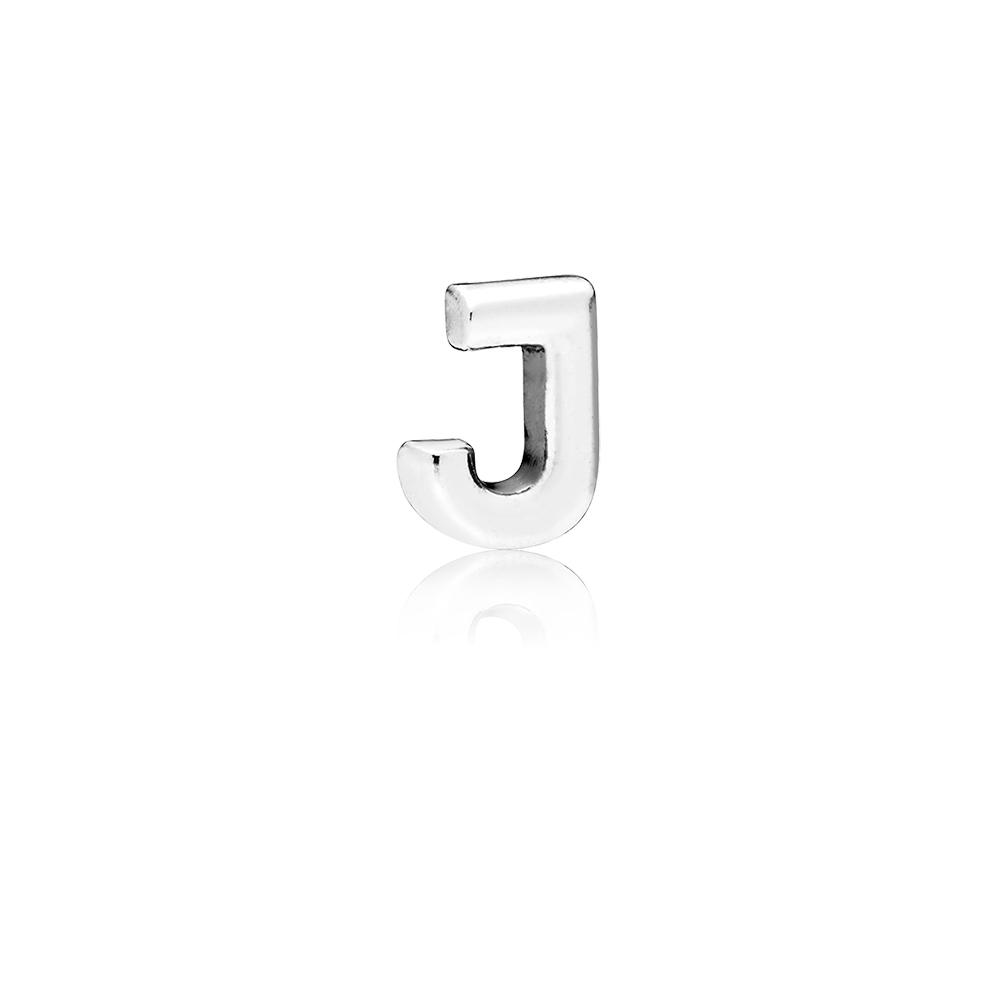 Letter J Petite Locket Charm