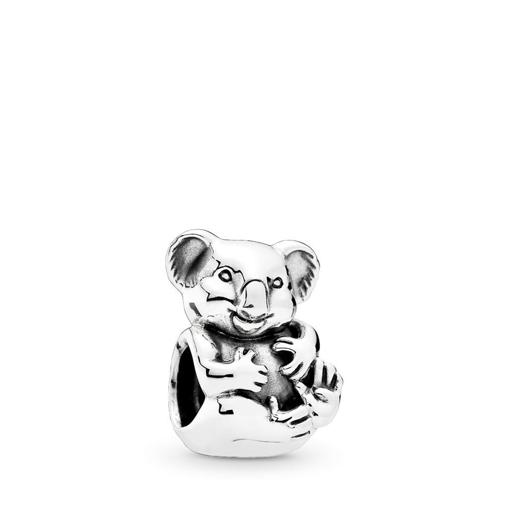 Cuddly Koala Charm, Sterling silver - PANDORA - #791951