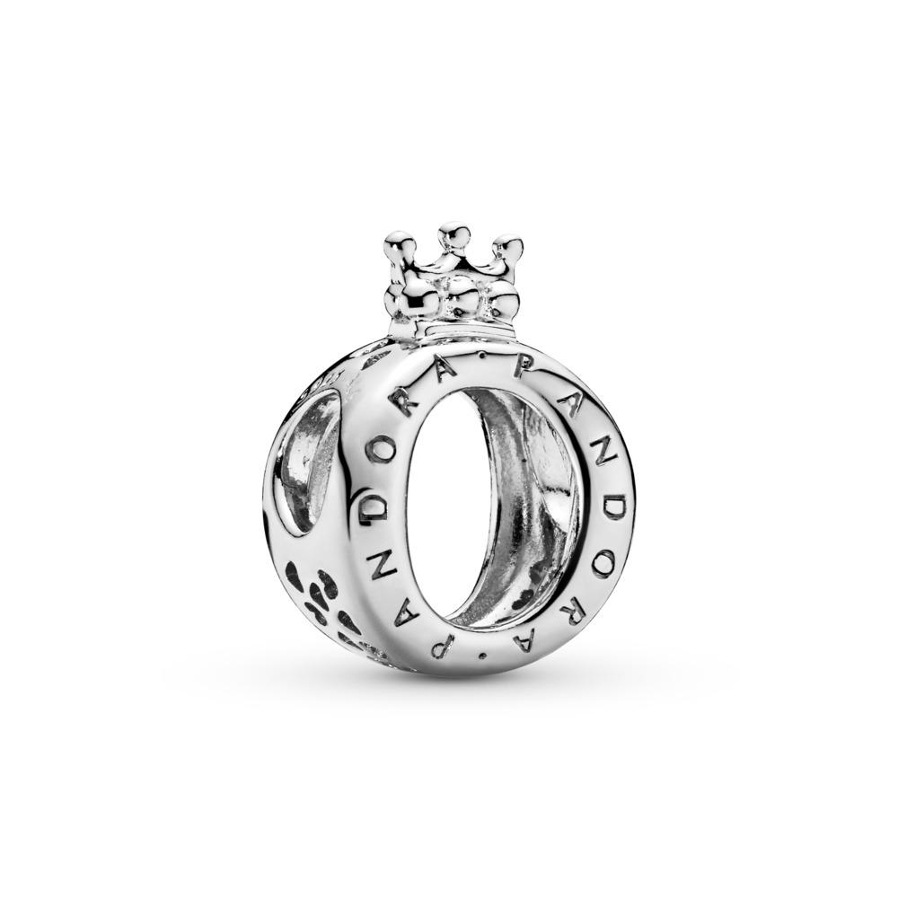 PANDORA Crown O Charm, Sterling silver - PANDORA - #797401