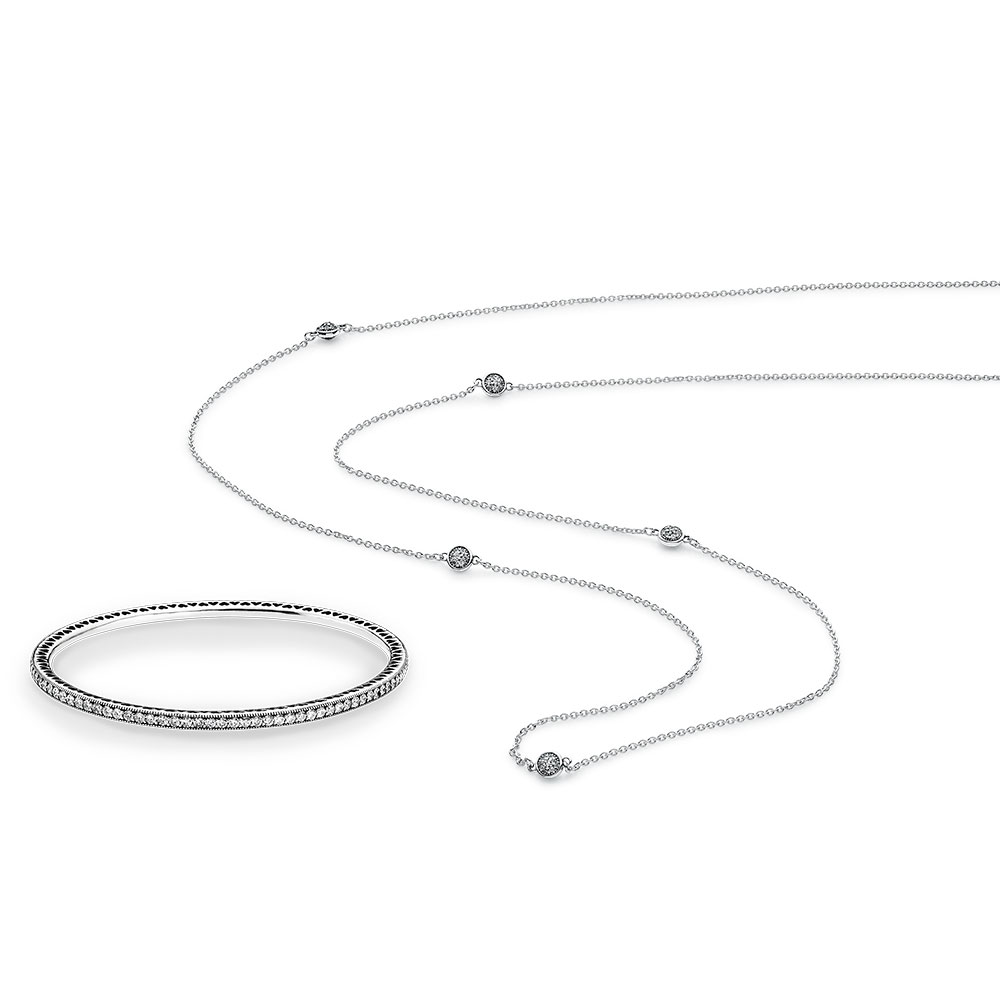 Twinkling Droplets Jewelry Set
