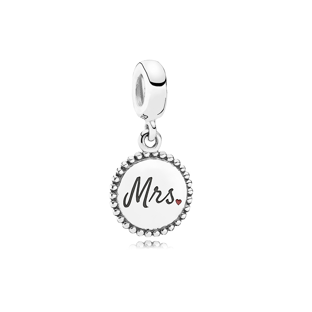Mrs. Charm, Sterling silver - PANDORA - #ENG791169_32