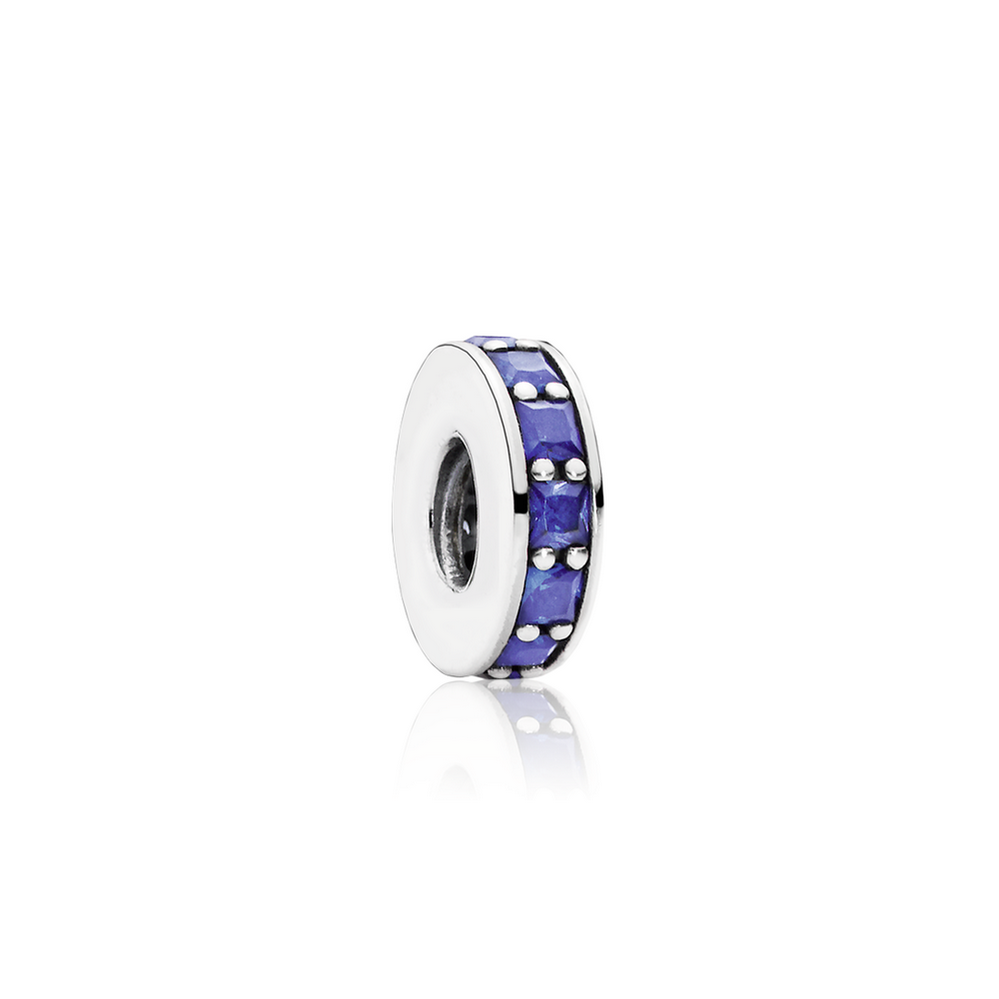 Eternity Spacer, Royal Blue Crystal