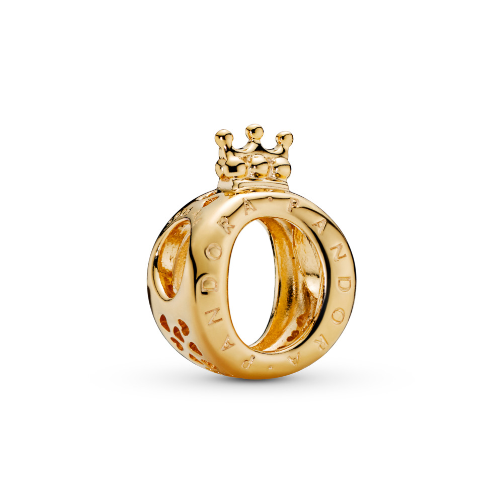 PANDORA Crown O, PANDORA Shine™, 18ct Gold Plated - PANDORA - #767401