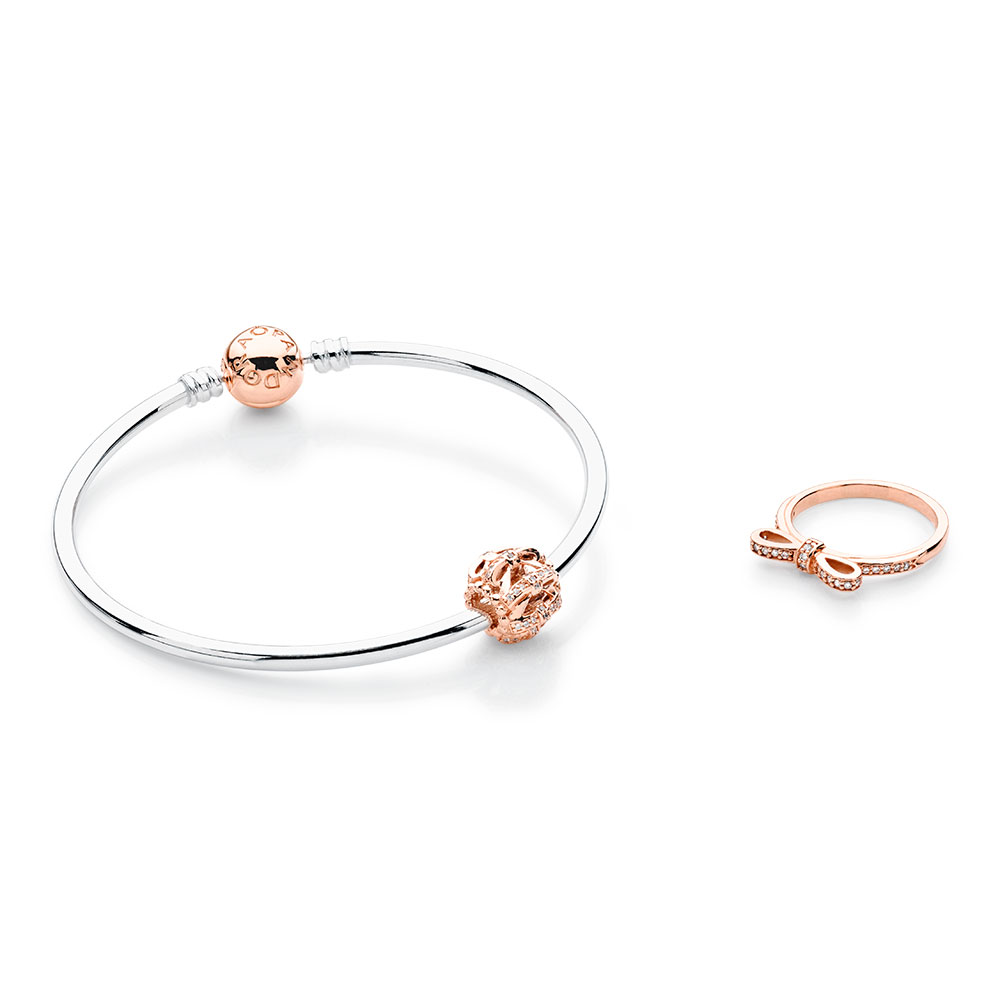 Blushing Bows PANDORA Rose™ Jewelry Set