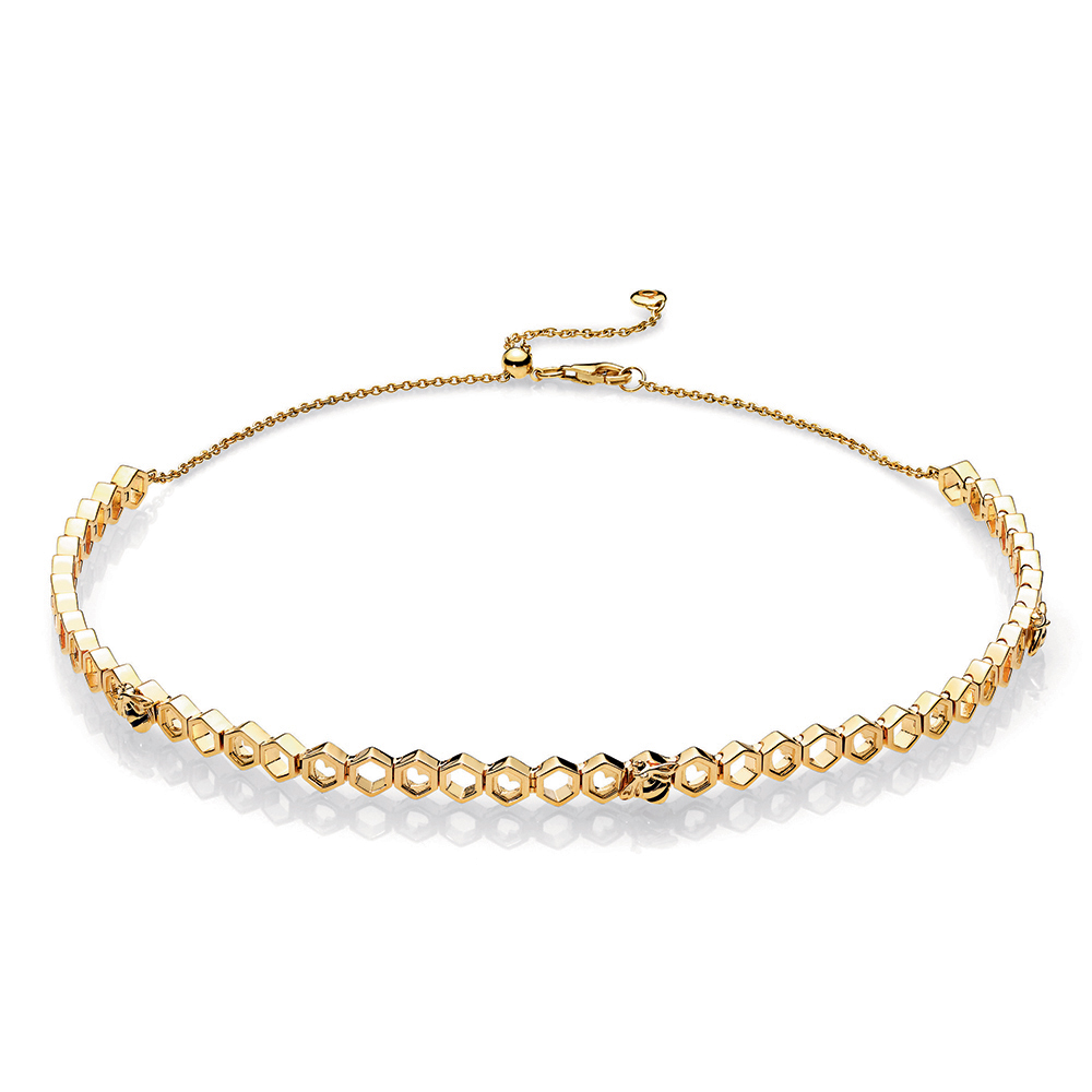 Limited Edition PANDORA Honeybee Choker, PANDORA Shine™