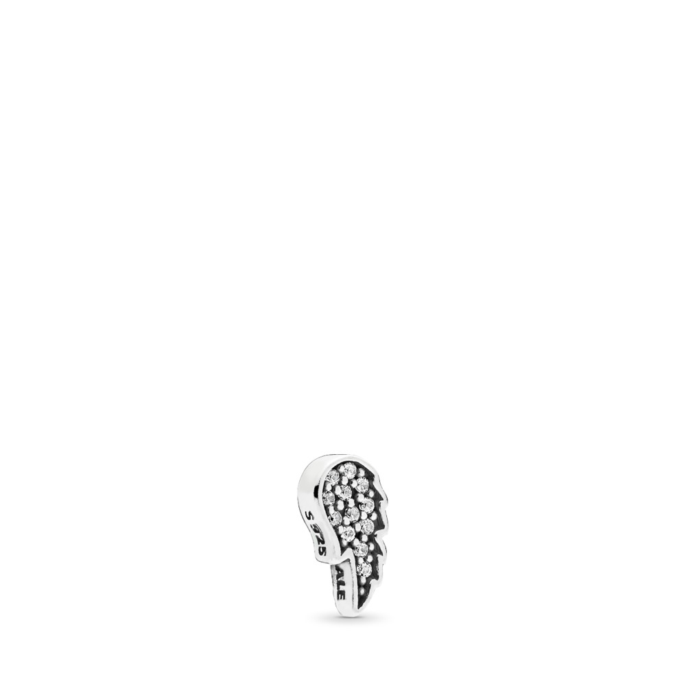 Symbol of Guidance Petite Locket Charm, Sterling silver, Cubic Zirconia - PANDORA - #792158CZ