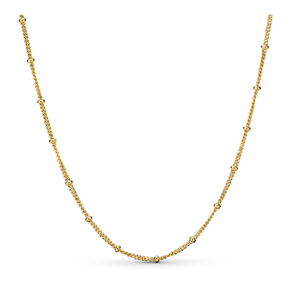 Beaded Necklace, Pandora Shine™, 18ct Gold Plated - PANDORA - #367210