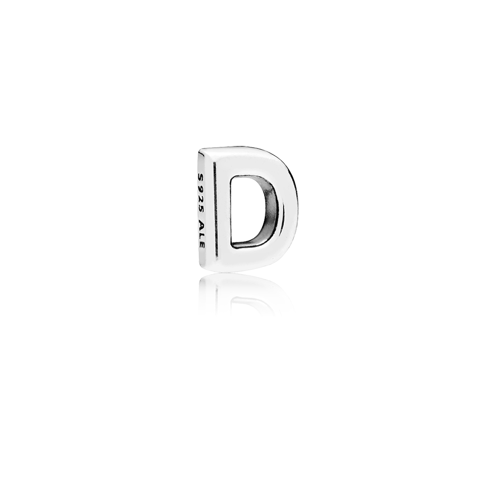 Letter D Petite Locket Charm