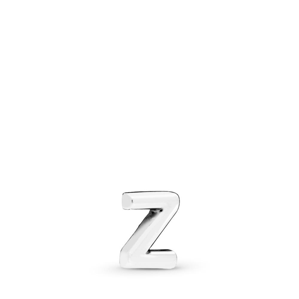 Letter Z Petite Locket Charm, Sterling silver - PANDORA - #797344