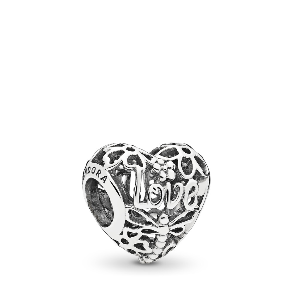 Promise of Spring Charm, Sterling silver - PANDORA - #797046