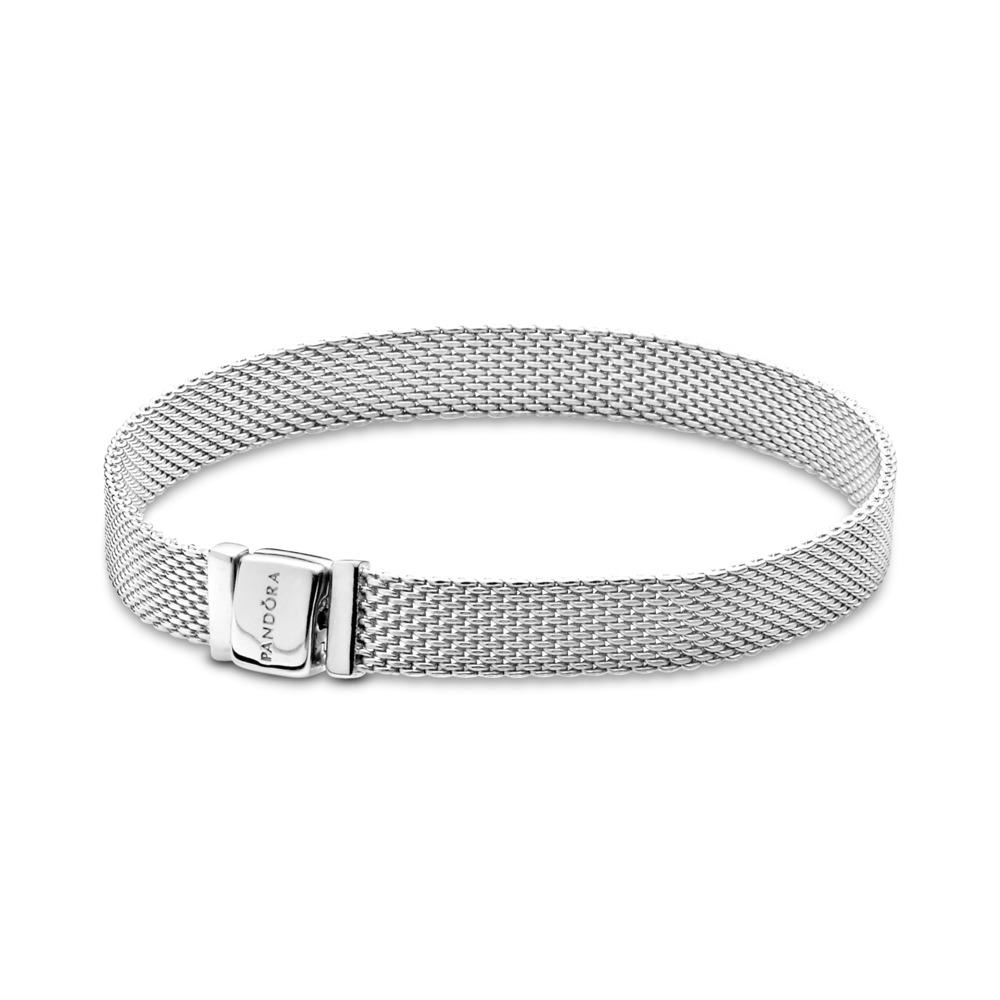 Pandora Reflexions™ Mesh Bracelet, Sterling silver - PANDORA - #597712