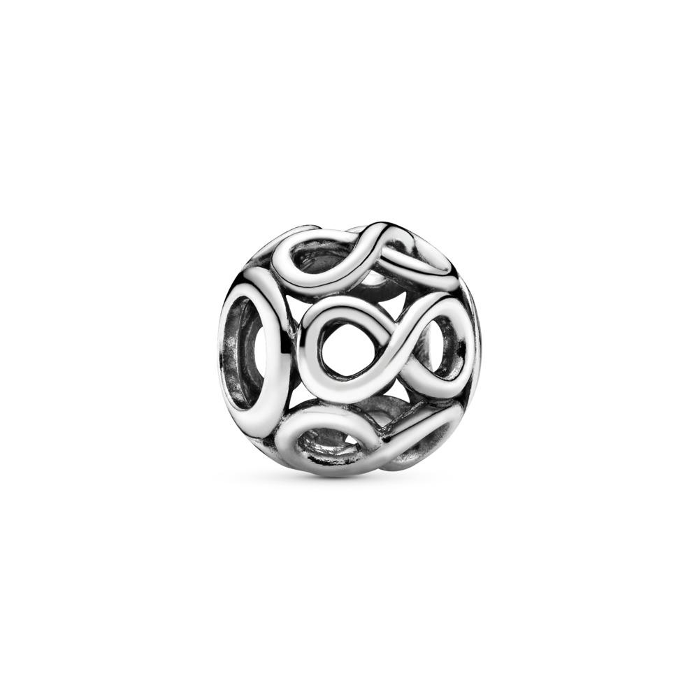 Infinite Shine Charm, Sterling silver - PANDORA - #791872