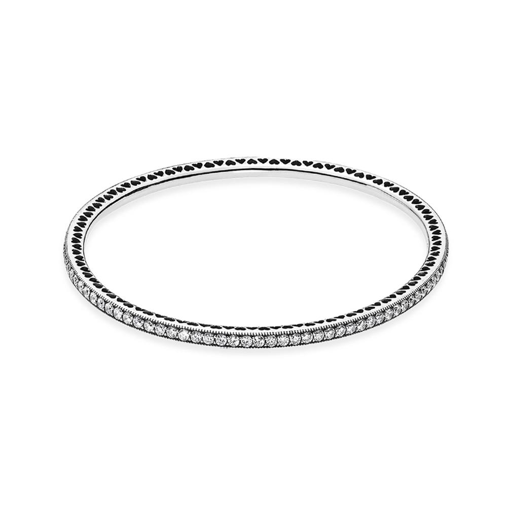 Twinkling Forever Bangle Bracelet