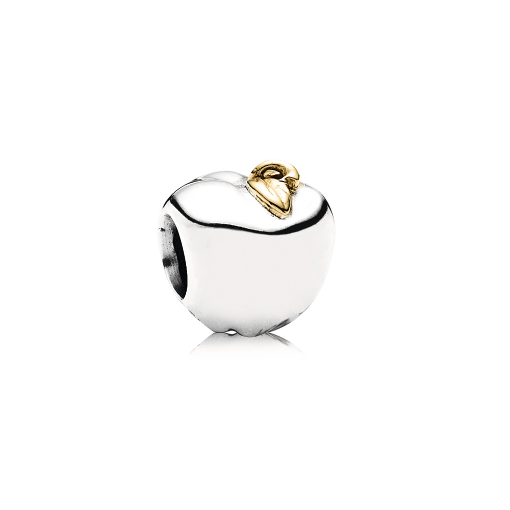 Apple Of My Eye Charm, Two Tone - PANDORA - #791026