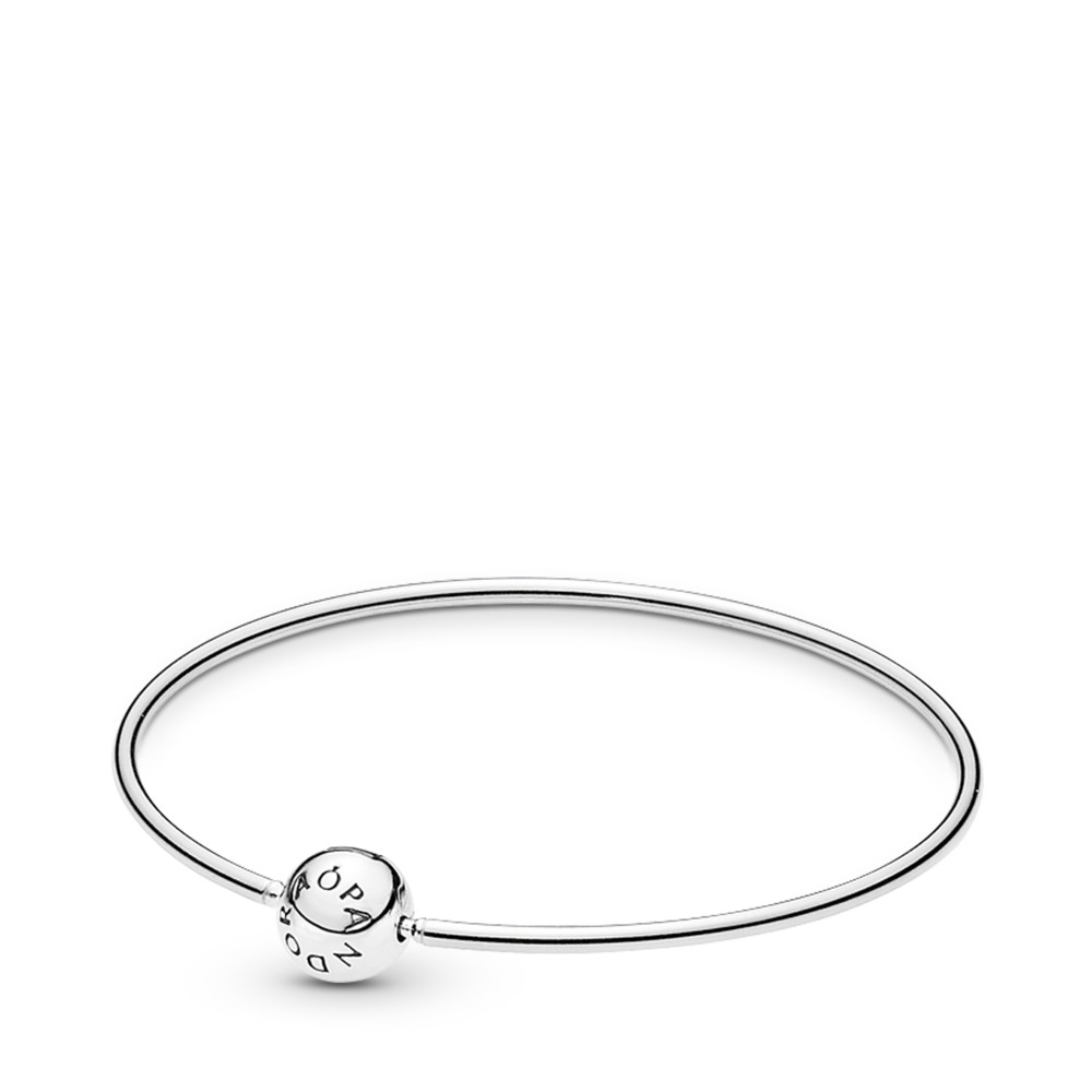 PANDORA ESSENCE COLLECTION Bangle Bracelet, Sterling silver - PANDORA - #596006