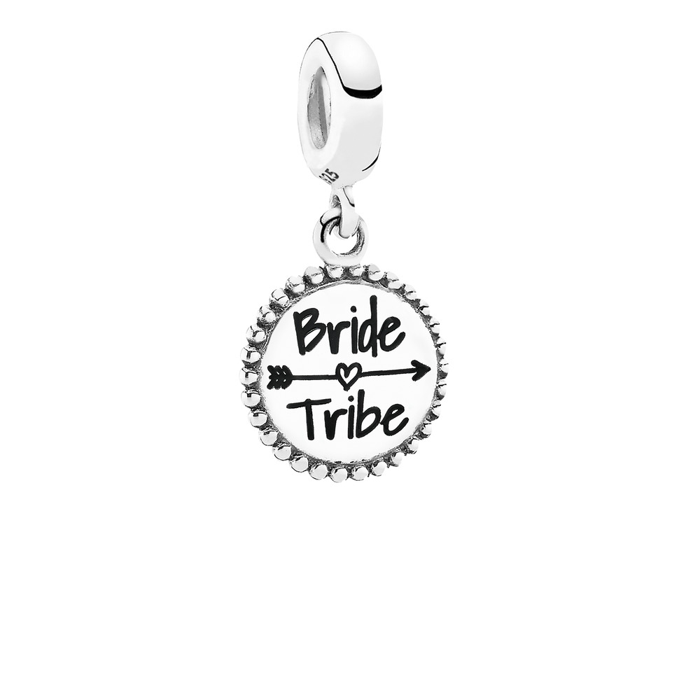 Bride Tribe Dangle Charm, Sterling silver - PANDORA - #ENG791169_31